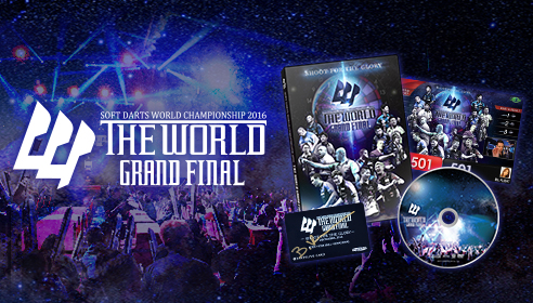 THE WORLD 2016 GRAND FINAL DVD販売中