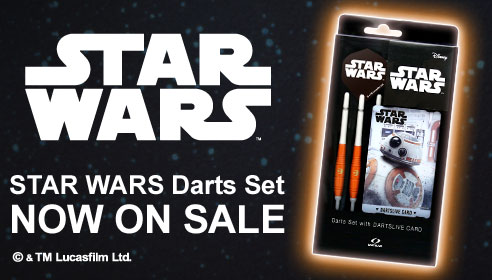 【STAR WARS EPISODE VIII】 STAR WARS Darts Set/BB-8発売中!