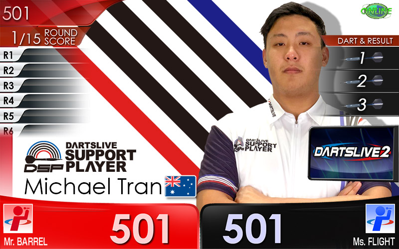 Michael Tran DARTSLIVE THEME