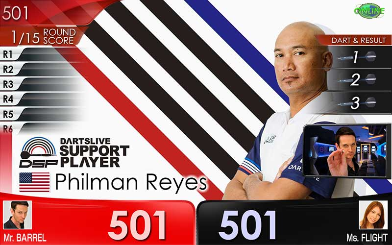 Philman Reyes DARTSLIVE THEME