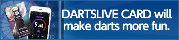 One CARD can expand your entertainment experience. DARTSLIVE CARDwill make darts more fun. For more information