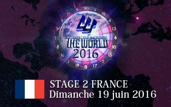 THE WORLD STAGE 2 Dimanche 19 juin 2016
