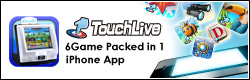 TouchLive iPhone App