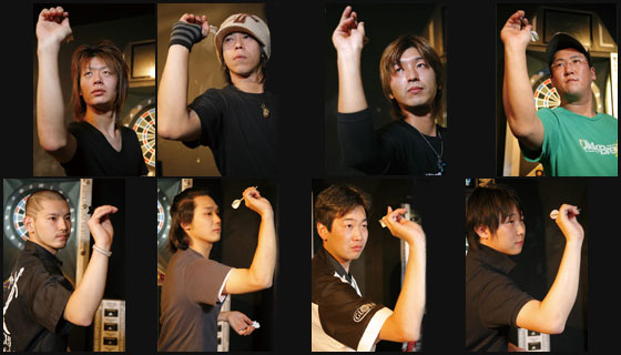 DARTSLIVE JAPAN TOURNAMENT' 07-08 写真