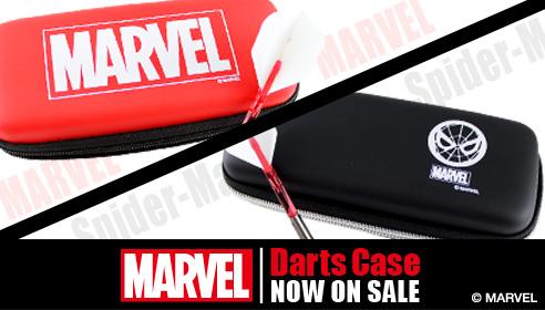 【MARVEL】世界的に人気のMARVEL キャラクターのSpider-Manがダーツケースに登場