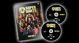 SUPER DARTS DVD VOL.6 発売!