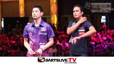 THE WORLD 2014 STAGE 1 準決勝 1を配信!【DARTSLIVE.TV】