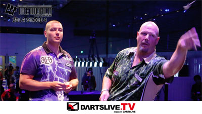 THE WORLD 2014 STAGE 4準決勝1を配信!【DARTSLIVE.TV】