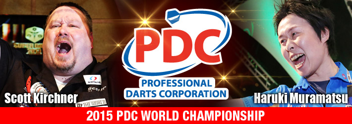 2015 PDC WORLD DARTS CHAMPIONSHIP
