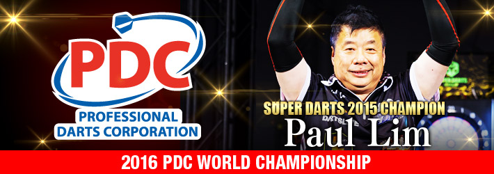 Invited player to PDC 2016 decided!