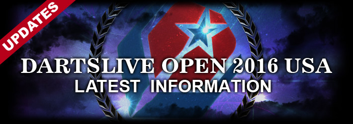 【更新情報】DARTSLIVE OPEN 2016 USA