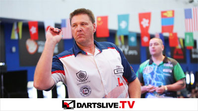 THE WORLD 2015 STAGE 6決勝戦を配信!【DARTSLIVE.TV】