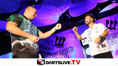 THE WORLD 2015 STAGE 7決勝戦を配信!【DARTSLIVE.TV】