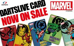 MARVELデザインのDARTSLIVE カードが発売!