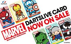 MARVEL DARTSLIVE CARDシリーズ第2弾が登場!