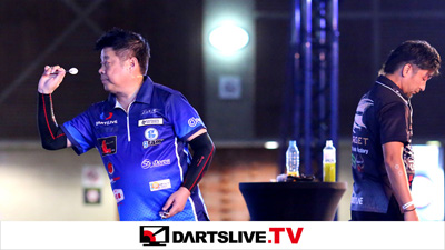 THE WORLD 2016 STAGE 3決勝戦を配信!【DARTSLIVE.TV】