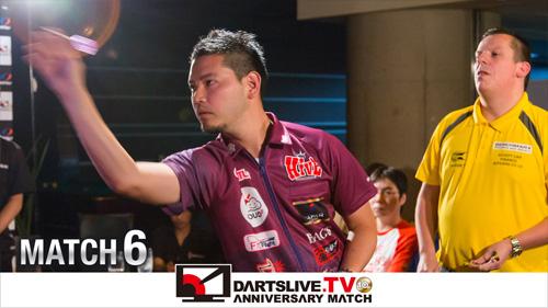 【デイブ・チズネル VS 江口 祐司】DARTSLIVE.TV 10th ANNIV. MATCH 6