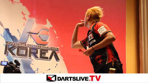 KOREA 2016 STAGE 3の決勝戦を配信!【DARTSLIVE.TV】