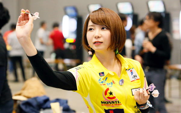 STORY OF DARTSLIVE OFFICIAL PLAYER ~森田真結子~