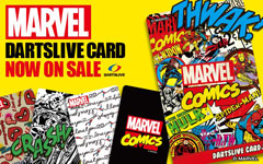 MARVEL DARTSLIVE CARD 第3弾発売開始!