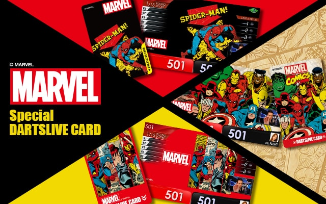 MARVEL Special DARTSLIVE CARD発売!