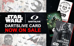 【発売開始】STAR WARS DARTSLIVE CARD 第1弾!
