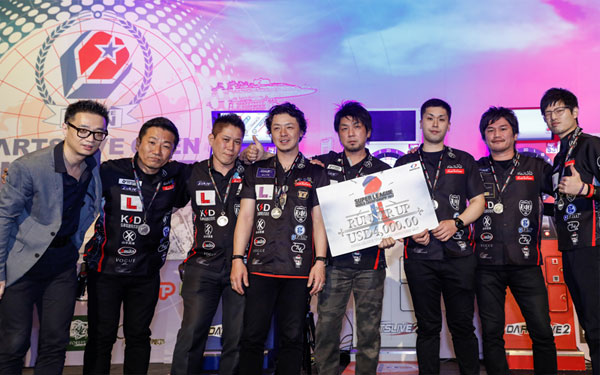 SUPER LEAGUE WORLD CHAMPIONSHIP 2017 Runner up Japan