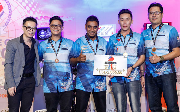 SUPER LEAGUE WORLD CHAMPIONSHIP 2017 BEST 4 Malaysia