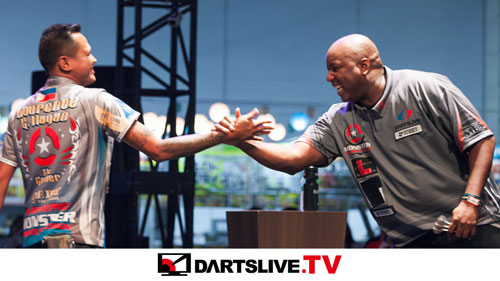 THE WORLD 2017 STAGE 4決勝戦を配信!【DARTSLIVE.TV】