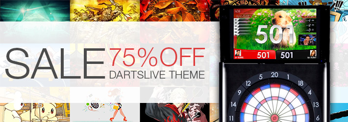 DARTSLIVE THEME Sale