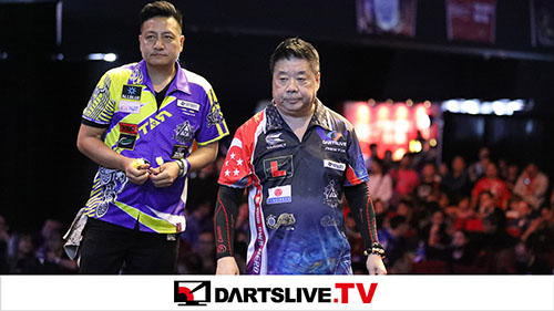 THE WORLD 2018 GRAND FINAL QUARTER FINAL MATCH 2【DARTSLIVE.TV】