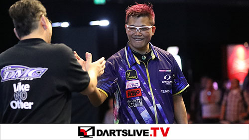 THE WORLD 2018 GRAND FINAL QUARTER FINAL MATCH 3【DARTSLIVE.TV】