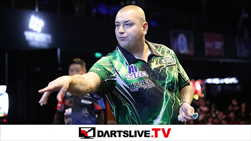 THE WORLD 2018 GRAND FINAL SEMI FINAL MATCH 1【DARTSLIVE.TV】