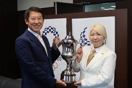 スポーツ庁鈴木大地長官との対面
