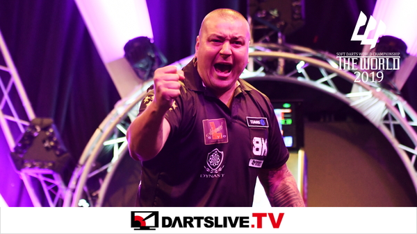 THE WORLD 2019 STAGE 2のFINAL MATCHを公開【DARTSLIVE.TV】