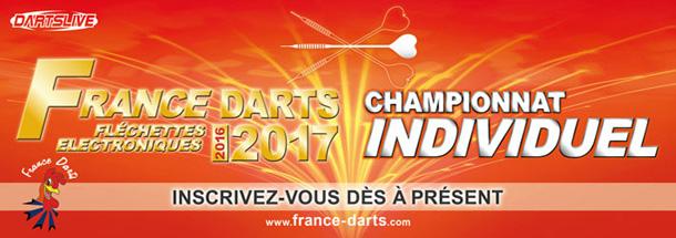 Début des inscriptions au championnat individuel France Darts!