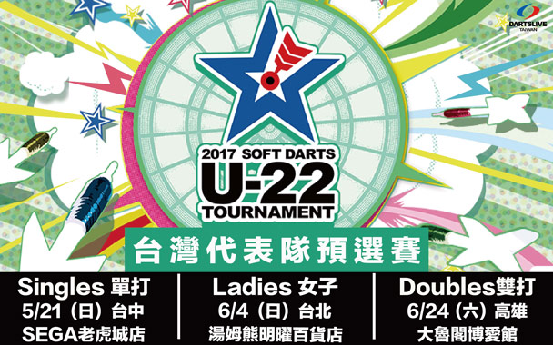 U-22台灣預選賽女子組持續報名中