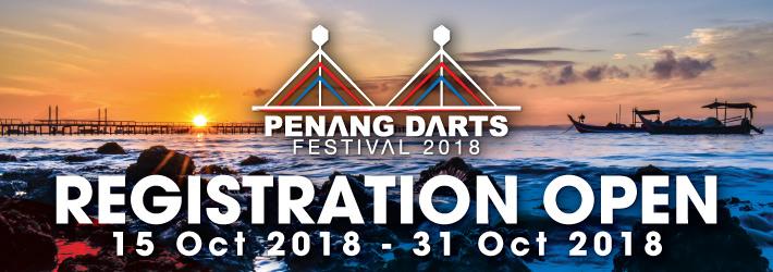 PENANG DARTS FESTIVAL 2018