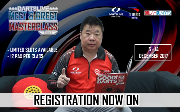 DARTSLIVE MASTER CLASS 2017 - PAUL LIM
