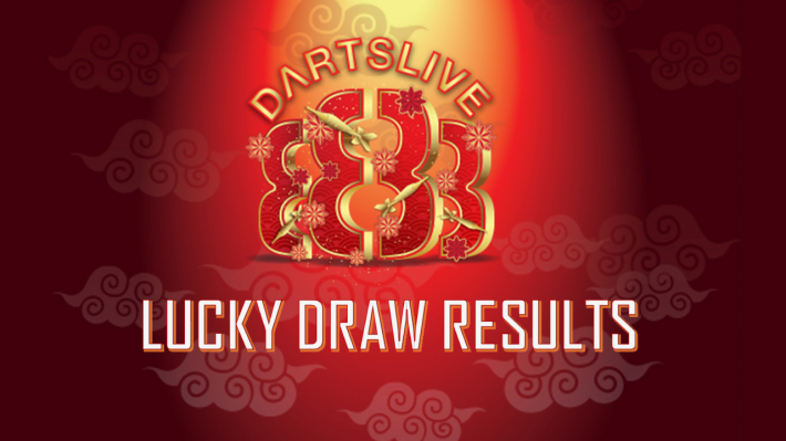 DARTSLIVE 888 Chinese New Year Lucky Draw Results