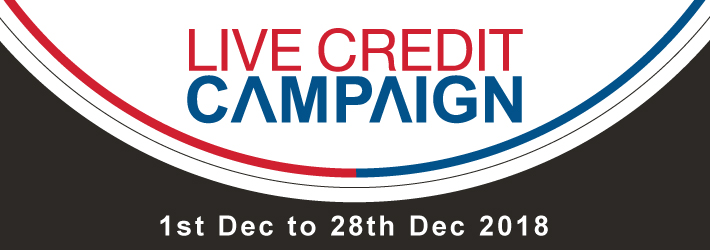 LIVE CREDIT LAUNCH Campaign