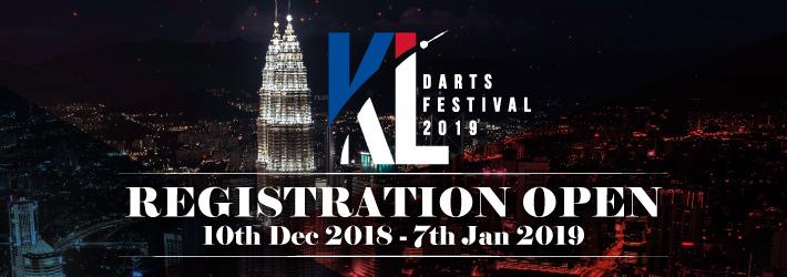 KUALA LUMPUR DARTS FESTIVAL 2019