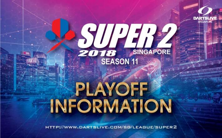 SUPER 2 SEASON 11 PLAYOFF Information