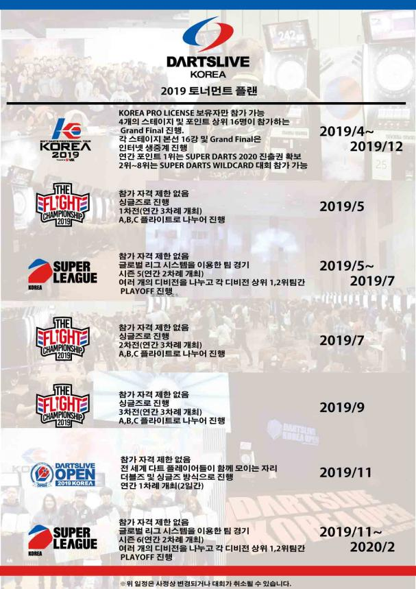 DARTSLIVE KOREA 2019