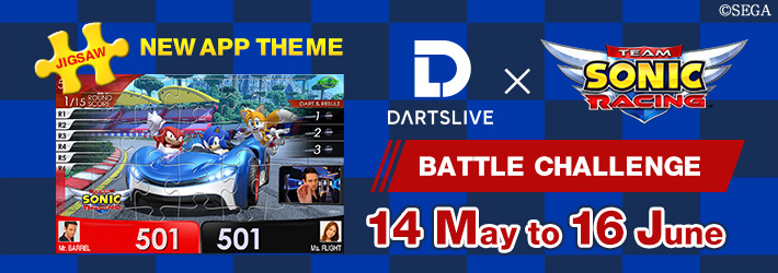 Play 『Team Sonic Racing』 BATTLE CHALLENGE and collect THEMEs(Until 16 June)