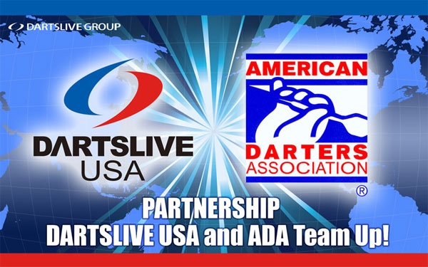 DARTSLIVE USA and ADA Team Up