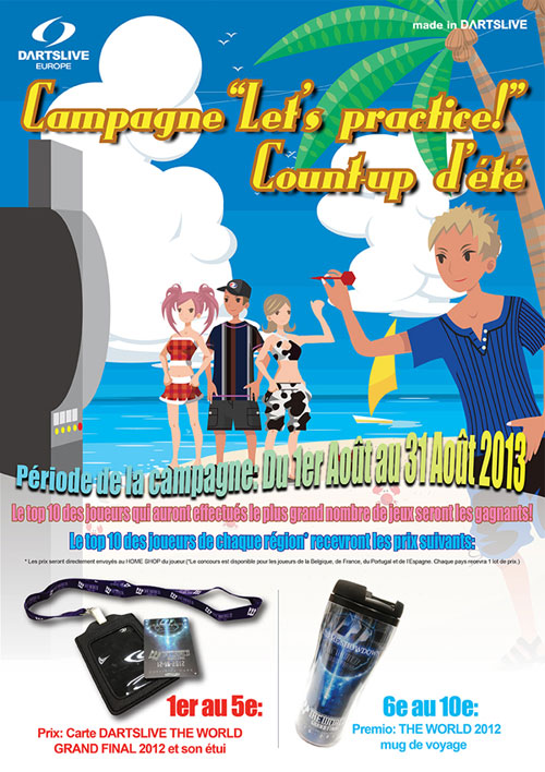 Summer Count-up Campaign