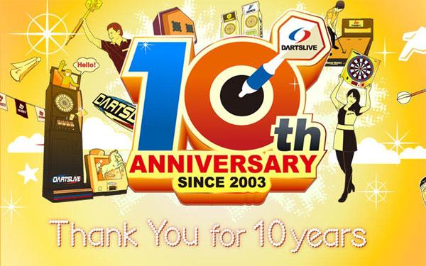 DARTSLIVE 10-Year Anniversary