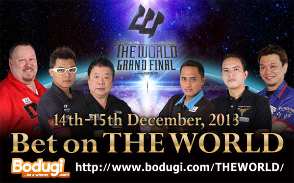 Bet on THE WORLD with Bodugi