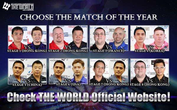 THE WORLD 2013 MATCH OF THE YEAR
